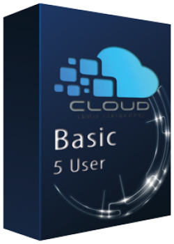 Cloud - Basic 5 User 20 GB Jahresabo